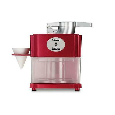 Cuisinart Snow Cone Maker Red