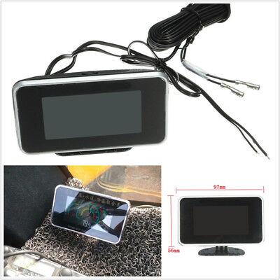 4in1 LCD Gauge Car Volt-Oil Pressure-Oil Fuel-Water Temp Digital Meter M10 Screw