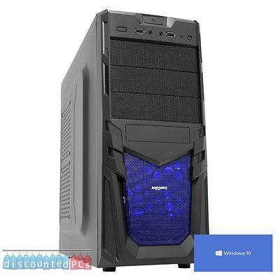 ULTRA VELOCE COMPUTER PC DA GIOCO AMD DUAL CORE 3.9 1TB 16GB ATI 8370 WINDOWS10