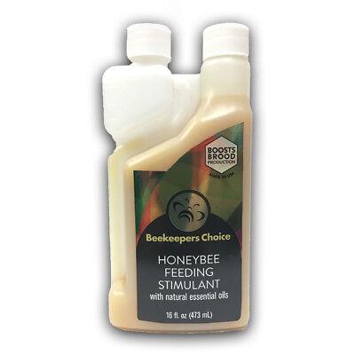 8oz Beekeepers Choice Premium Honeybee Feeding Stimulant Ez-pour Bottle