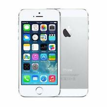 Apple iPhone 5S 16GB Silver Unlocked Refurbished Mobile Lane Cove North Lane Cove Area Preview