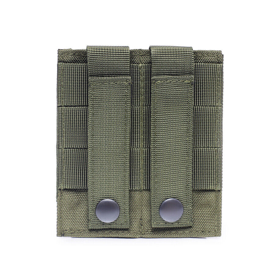 Military Tactical Modular Molle Double Magazine Pouch Holster Pistol Mag Holder Holsters, Belts & Pouches