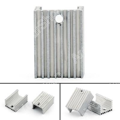 10pcs Heat Sink Cooler 15x10x21mm Radiator For Power Cpu Transistormosfetic Ue