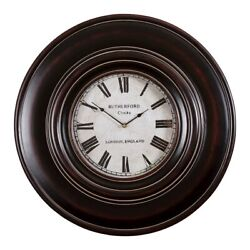 Uttermost Adonis 24 Wooden Wall Clock - 6724
