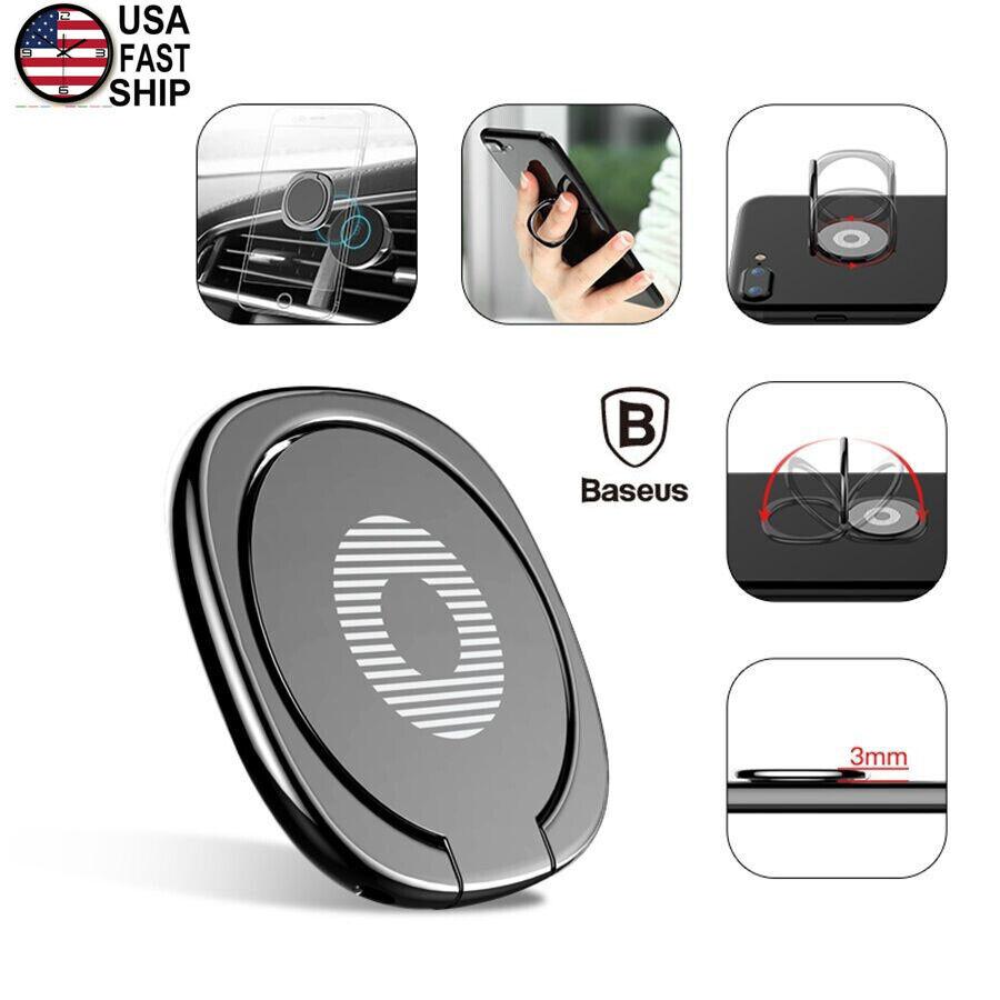 Baseus Universal 360° Finger Ring Stand Phone Holder For Sa