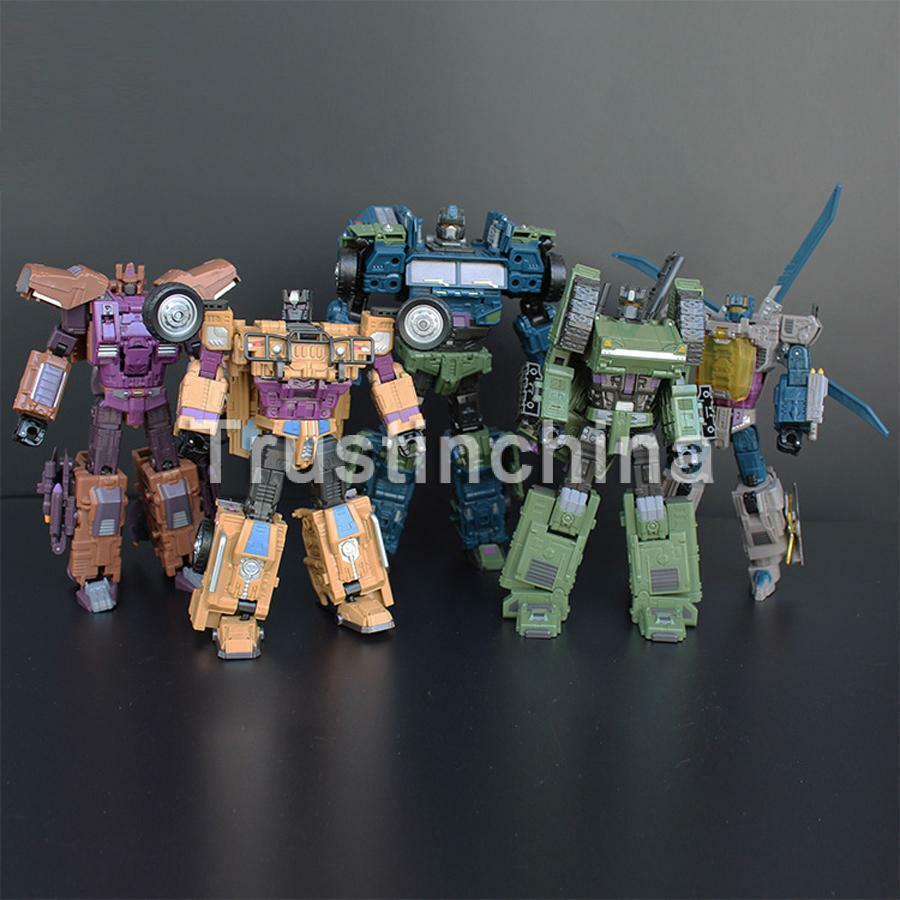 NEW Jinbao Bruticus Robot Decepticons Oversized Warbotron Toy Action Figure