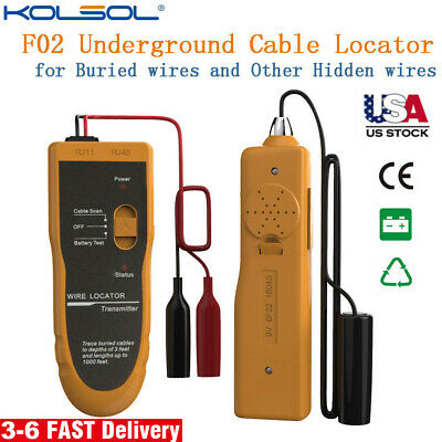 Underground Cable Locatorwire Tracertracerfinder Fence Cables Coax Kolsol F02