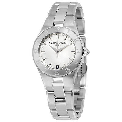Baume and Mercier Linea Stainless Steel Ladies Watch 10070