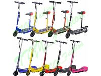 New Kids Electric Scooters120W 24V Toy Battery Rechargeable Ride On E Scooter