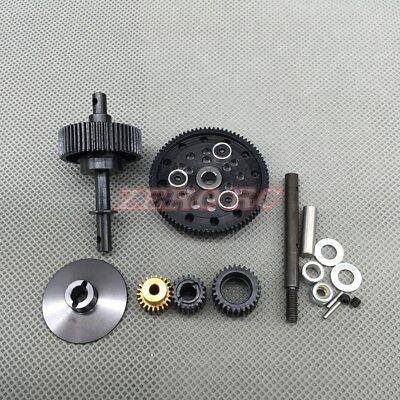 Heavy Duty STEEL Gear Set W/ MOTOR GEAR For AXIAL WRAITH Transmission Gearbox Motorized Gear Set