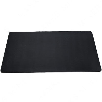 Xl Wide Gaming Mousepad Black Extra Large Mat Mouse Pad Non Slip Rubber