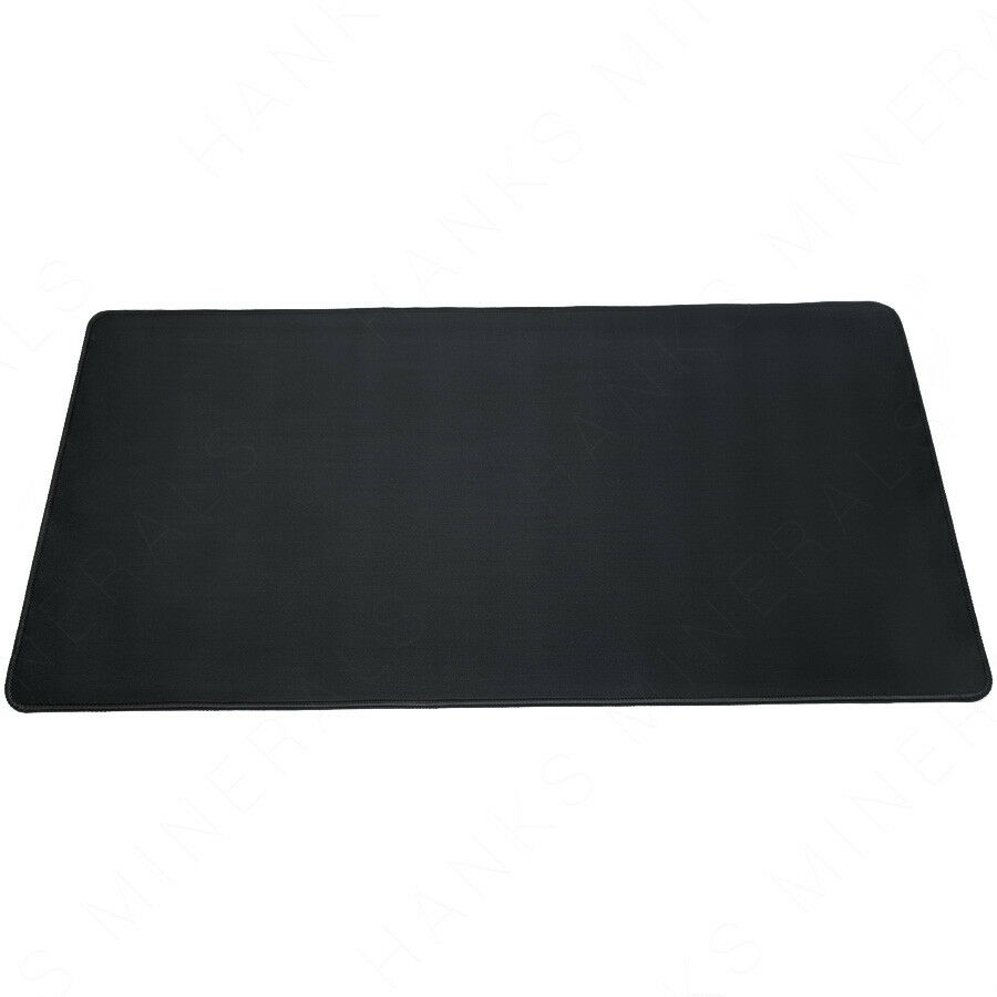 XL Wide Gaming Mousepad Black Extra Large Mat Mouse Pad Non