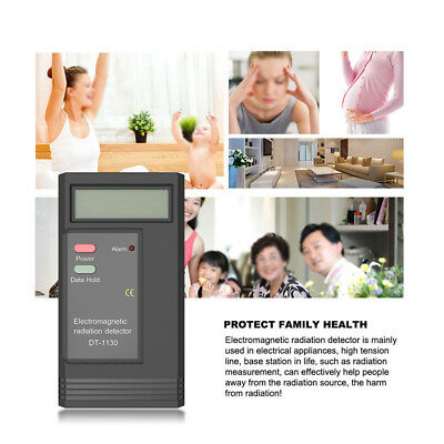 Digital EMF Meter Tester Elektromagnetische Strahlung Messgerät Detektor Tool