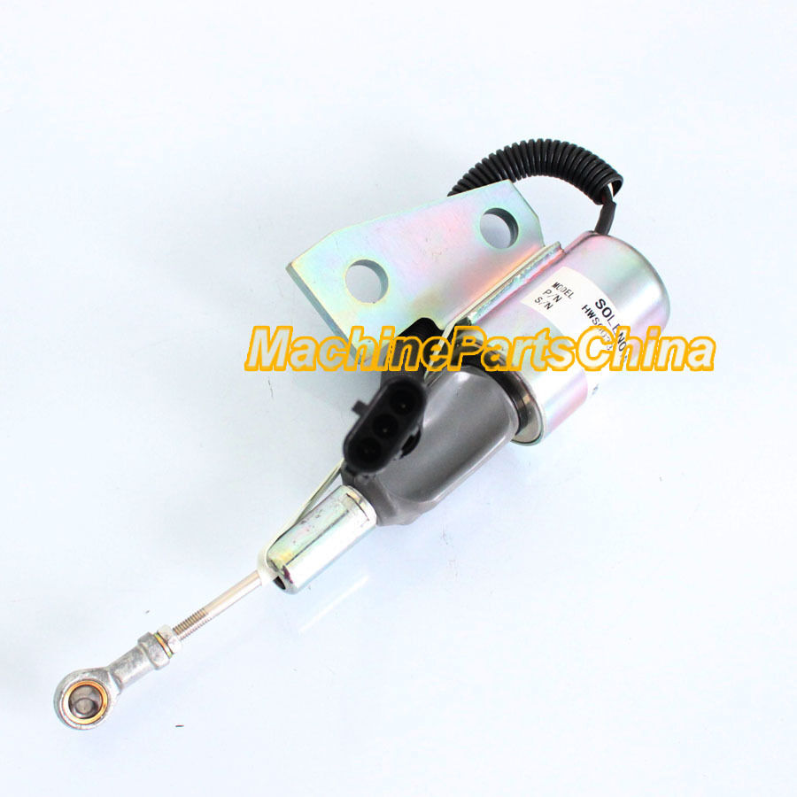Fuel Shutoff Solenoid For Komatsu PC150LC-6 PC150-6 Excavator 6732-82-9110