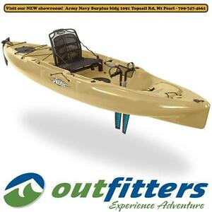 """""""Outback"""" Angling Kayak by Hobie Cat for sale - """"Olive"""" - Stock# 110898"""