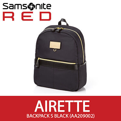 Samsonite RED 2017 New AIRETTE Backpack Casual for 10 inch Tablet/iPad [ Black ]