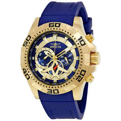 Invicta Aviator Multi-Function Blue Carbon Fiber Dial Men's Watch 21737
