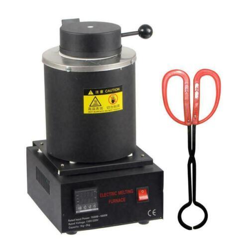 Automatic Melting Furnace Melt 2kg Silver & Gold Pour Bar Digital Temperature Co