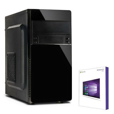 QUAD CORE PC GAMER AMD A10 9700 8GB DDR4 120GB SSD Komplett Windows 10 Computer