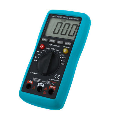Digital Multimeter Ac Dc Amp Volt Temp Multi-function Tester Ohm Dmm Multitester