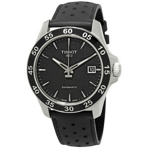 Tissot V8 Automatic Black Dial Mens Watch T1064071605100