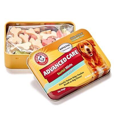 Mint Advanced Care Dental Dog Chew Treat For Tartar & Bad Breath Control Chicken