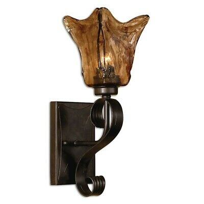 Uttermost Vetraio Glass Wall Sconce - -
