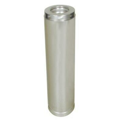 SuperVent JSC6SA3 JSC6SA2 JSC6SA1 Insulated Double Wall Stainless Chimney - Double Wall Chimney Pipe