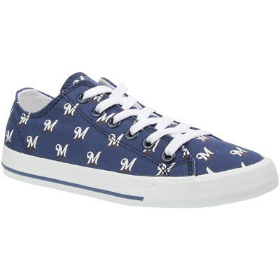 Milwaukee Brewers Row One Shoes Sneakers Unisex MLB Baseball NEW NIB Apparel ](Milwaukee Brewers Baseball)