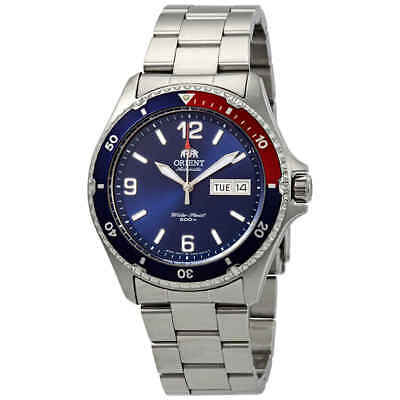 Orient Mako II Automatic Blue Dial Pepsi Bezel Men's Watch FAA02009D9