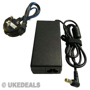 For zoostorm pa-1650-68 Laptop Main Charger AC Adapter + LEAD POWER CORD