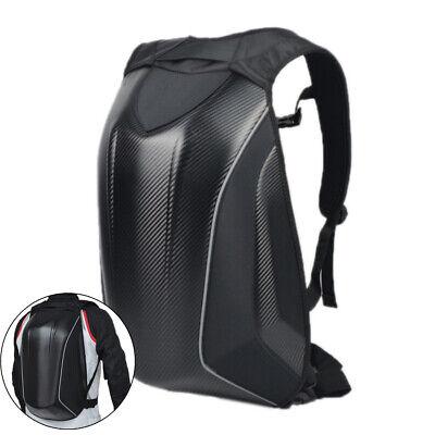 Waterproof Black ATV Moped Scooter Backpack Luggage Shoulder Bag Pack Case Biker