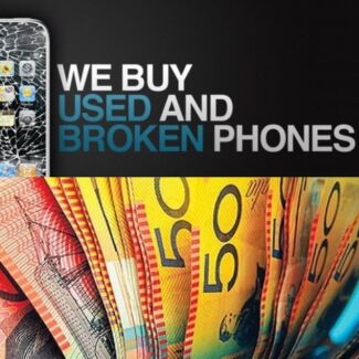 Buying damaged and used iphone 4s 5 5s 5c 6 6+ cash pickup service  Henley Beach Charles Sturt Area Preview
