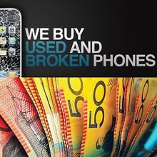 Buying damaged and used iphone 5 5s 5c 6 6s & + cash pickup service Elizabeth Grove Playford Area Preview