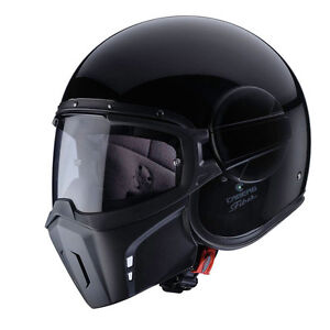 casco-Caberg-Ghost-black-negro-brillante-M-casco-capacete-de-casque-helm-moto
