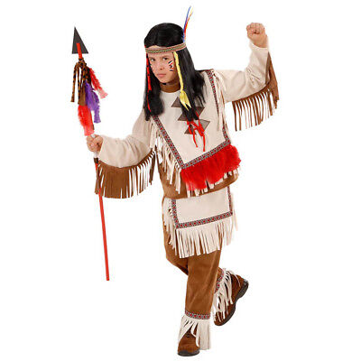 INDIANER KOSTÜM KINDER Karneval Fasching Party Jungen Häuptling - Indianer Häuptling Kostüm Kind