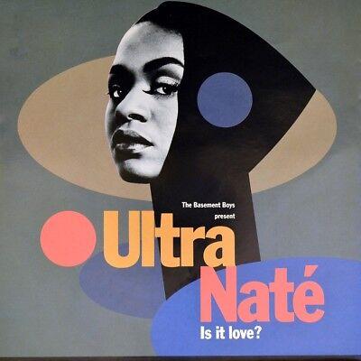 "7"" BASEMENT BOYS present ULTRA NATÉ NATE Is It Love? / Scandal ETERNAL like NEW!"