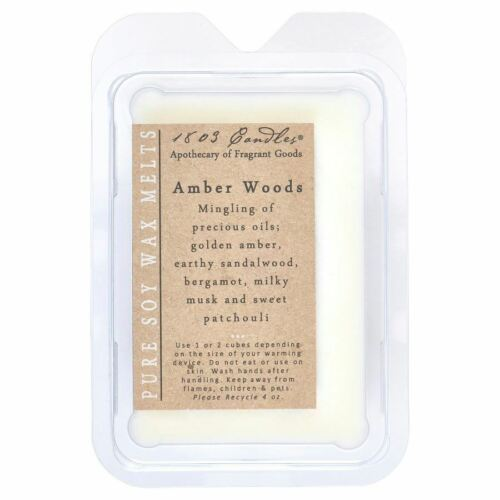 1803 Candles - Melters - Amber Woods