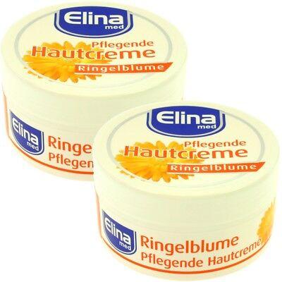 (26,63€/l) 2x Pflegende Hautcreme Creme Ringelblume 150 ml - wirkt beruhigend!