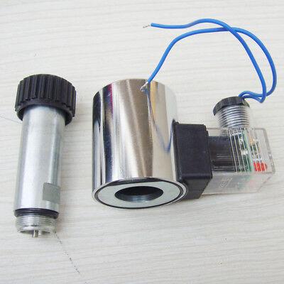 Hydraulic Solenoid Valve Coil Full Copper Mfb12-37yc Dc12v Inner Diameter 23mm
