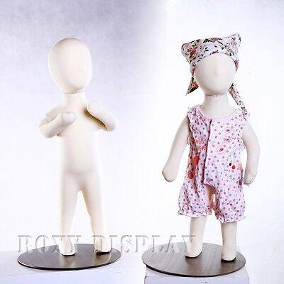 Children Mannequin Dress Form Flexible Foam 3m Jf-ch03m