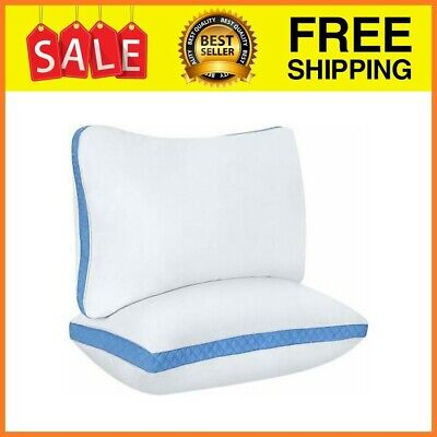 Utopia Bedding Gusseted Quilted Pillow Standard/Queen 18 x