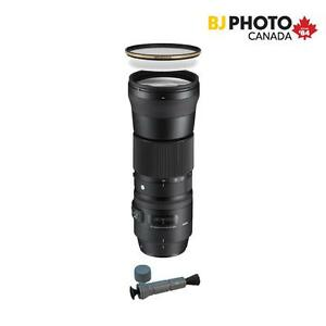 SIGMA Super Telephoto Contemporary 150-600mm DG OS HSM , Black Friday Kit with German Schott Glass Filter