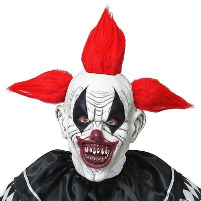 HORROR CLOWN LATEXMASKE # Halloween Killer Mörder Kostüm - Killer Clown Maske Kostüme