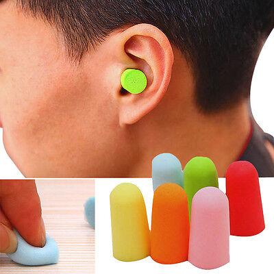 20pcs Foam Soft Ear Plugs Noise Reduction Earplugs For Noise Ear Hear Protection