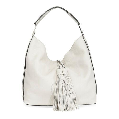 Rebecca Minkoff Isobel Hobo Pebbled Leather Handbag Putty - NWT Authentic