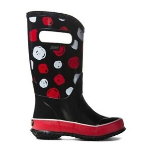 BOGS New in Box Rain Boots Sketched Dots Size 7 Toddler