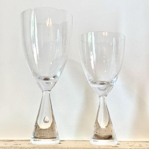 Holmegaard PRINCESS Claret Wine Glasses or Water Goblets ($ IS PER ITEM)