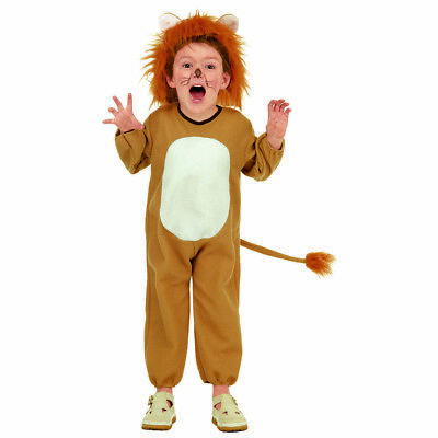 LÖWE KOSTÜM KINDER Karneval Fasching Tierkostüm Jungen Mädchen Katze Tiger 3730 (Löwe Kostüm Mädchen)
