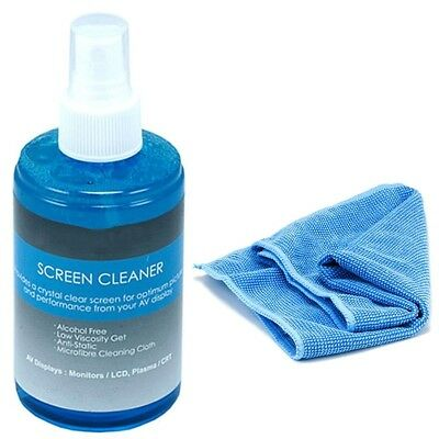 Screen Cleaner Cleaning Kit 200 ml LCD Plasma PC Laptop Tablet Monitor Display ()